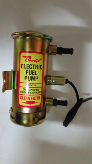 Bendix/Facet style fuel pump