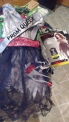 halloween costume corpse prom queen girls medium