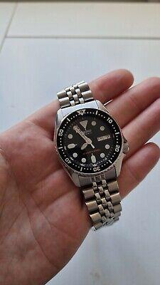 Seiko Prospex Men's Black Watch - SKX013K2