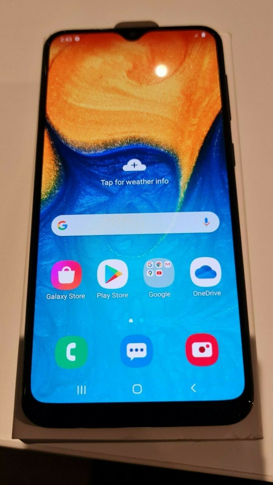 Android Phone - Unlocked Samsung Galaxy A20 SM-A205YN 32GB Black Mobile Phone