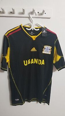 Uganda National Soccer Jersey New With Tags image