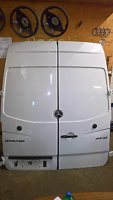 Pair of Mercedes sprinter rear doors 2006+ high roof door