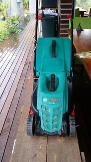Bosch  electric lawn mower is in good condition. Kuranda Tablelands Preview