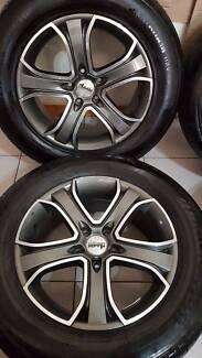 VW AMAROK 18INCH ALLOY WHEELS AVANTI FIT VW T5 VAN VW TOUAREG R5 Georges Hall Bankstown Area Preview