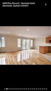 Condo / apartment For rent 4 1/2 in montreal nord