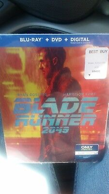 Brand New   Blade Runner 2049  Steelbook Bluray   Dvd  Digital