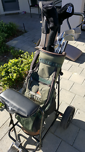 Full set mens golf clubs, buggy & bag Wanneroo Wanneroo Area Preview