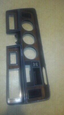 1981-1993 Dodge Ram D150 D250 D350 Ramcharger Dash Gauge Cluster Bezel OEM Wood