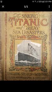 Vintage / Antique 1st Edition Titanic Book Ballajura Swan Area Preview