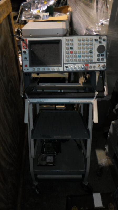 IFR FM/AM-1600S Cellular Protocol Analyzer w/ Lab Cart