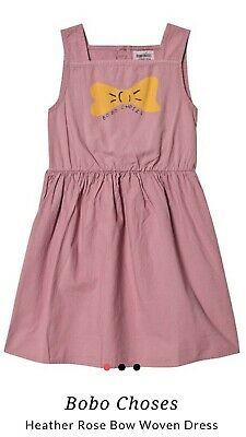 Bobo Choses Bow Print Dress
