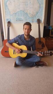 Mobile Guitar Teaching Service Western Sydney