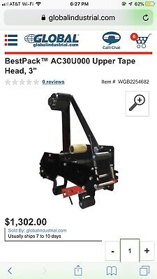 Bestpack Tape Head 3 Tape Machine