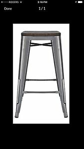 Metal Bar Stools (4)