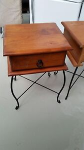 Bedside tables. 2 Burpengary Caboolture Area Preview