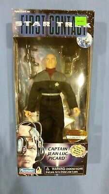Star Trek Collector Series 9 First Contact Picard Action Figure MIB - $5.99