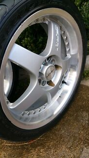 Lowline rims with Tyres  Melton South Melton Area Preview