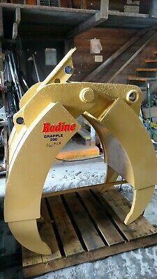 Bodine T-200 Series Excavator Grapple Claw Thumb 80 Mm Komatsu Cat Demo