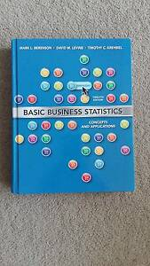 Basic Business Statistics Sydney City Inner Sydney Preview