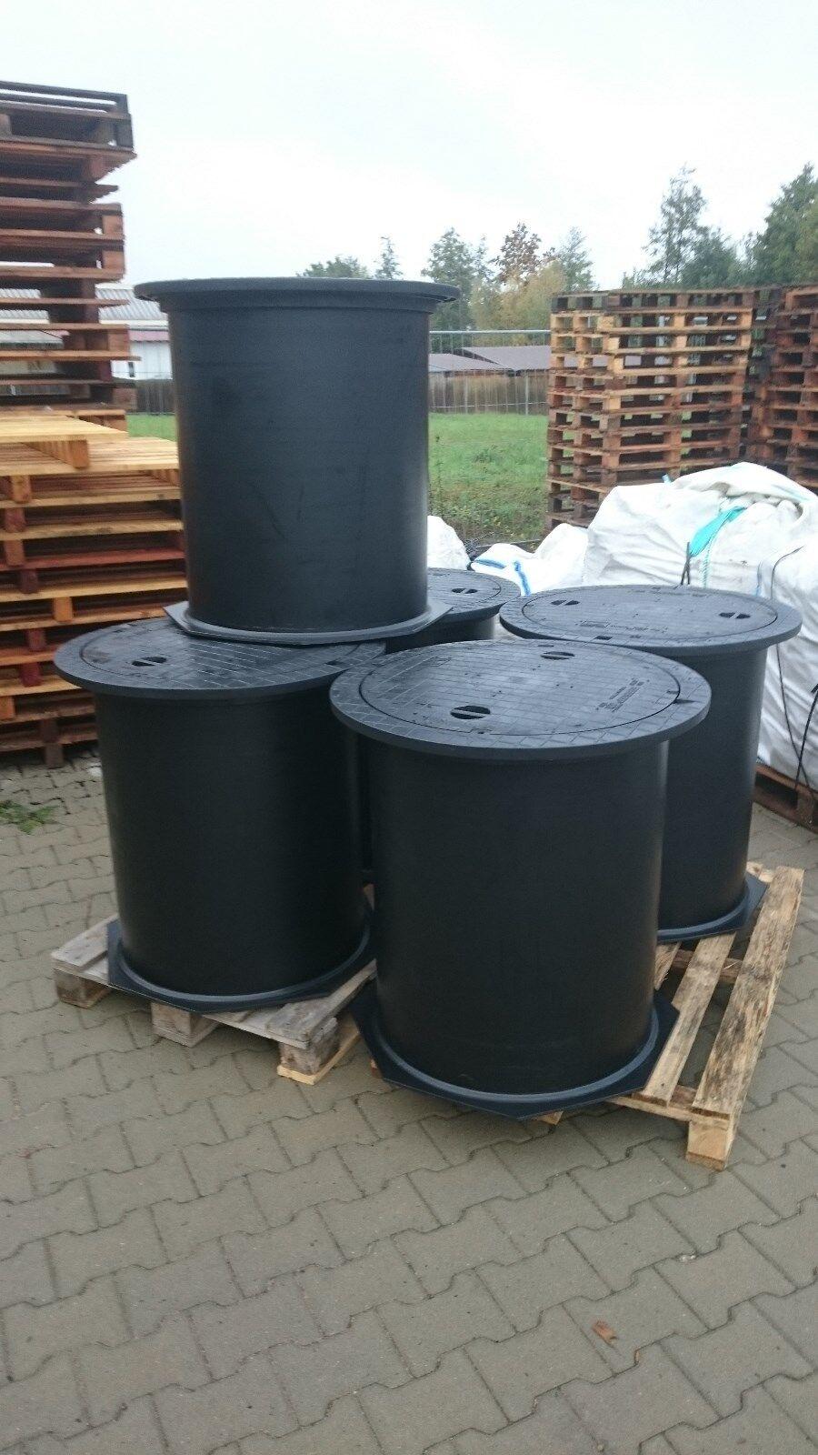 Brunnenschacht,Verteilerschacht,Kontroll-Revisionsschacht aus Kunststoff,600mm
