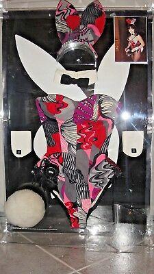 $10K RARE MOST COMPLETE Playboy Bunny Costume +CASE PENLIGHT -  FREE SHIP w/ BIN