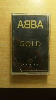 ABBA, Gold compilation Cassette Tape w. Dancing Queen, Super Trouper.. (1992)