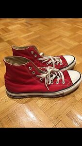 Red Chuck Taylor High Tops