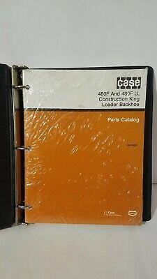 Sealed Case 480f Ll Construction King Loader Backhoe Parts Catalog Manual Book