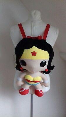 Dc comics Rucksack Wonderwoman Figur selten Wonderwomen rar ausgefallen Tasche