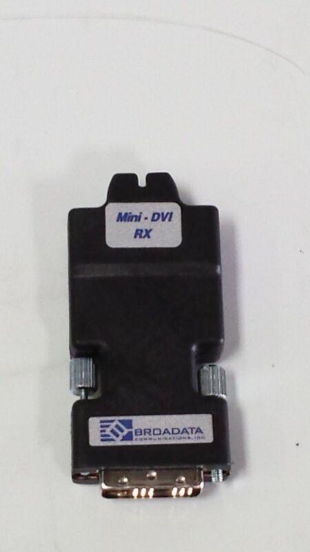 Broadata Mini- DVI RX Fiber DVI Extender