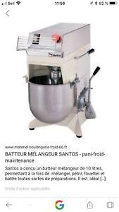 Mélangeur Santos 10 litres commercial