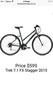 2016 TREK LADIE's 7.1 FX flat bar as new condition cost $599 sell $299 Inglewood Stirling Area Preview