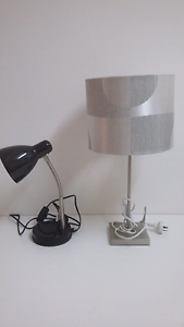 Desk and bedside lamps Clear Island Waters Gold Coast City Preview