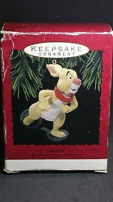 Hallmark RABBIT Keepsake WINNIE THE POOH Ornament MINT IN BOX  Box is rough