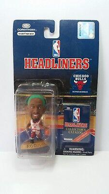 NBA Headliners Corinthian Basketball Figure Dennis Rodman Chicago Bulls Boxed