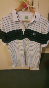 Men's Hugo Boss Polo shirt (XL) like new Slacks Creek Logan Area Preview