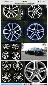 Wanted VE Commodore Mag Wheel Set Cessnock Cessnock Area Preview