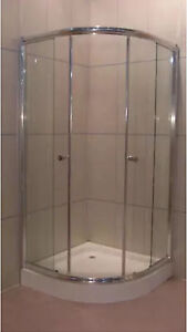 Brand new semi frame shower screen with round base Eastwood Ryde Area Preview