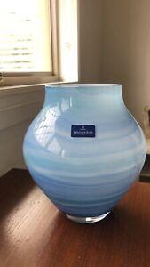 Villeroy & Boch Handmade Blue Glass Vase