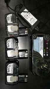 Hitachi 18v plug in batteries & charger Capalaba West Brisbane South East Preview