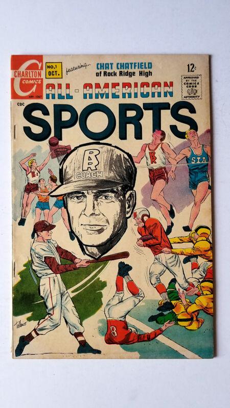 All American Sports (1967 Charlton) VG+
