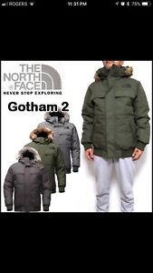 THE NORTH FACE GOTHAM II WINTER JACKET SIZE XL BRAND NEW