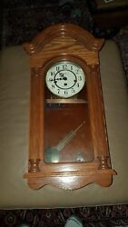 Howard Miller 620-232 Daniel - Mechanical Key-Wound Westminster Chime Wall Clock