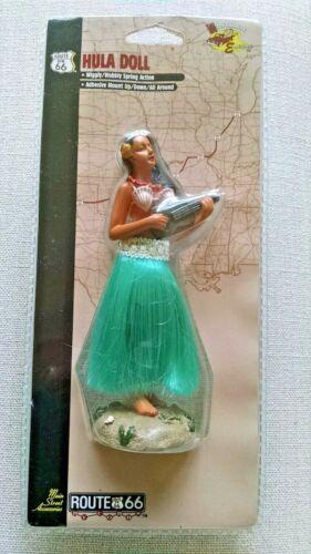 Cobbs Vintage 1998 Hawaiian Hula Dancer Dash Board Doll Route 66 -Sealed-New