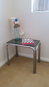 Glass top sidetable Chatswood West Willoughby Area Preview