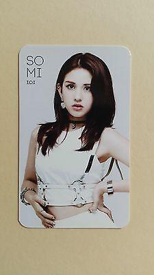 I.O.I IOI 1st Single Album Whatta Man Official Photo Card Photocard - Somi