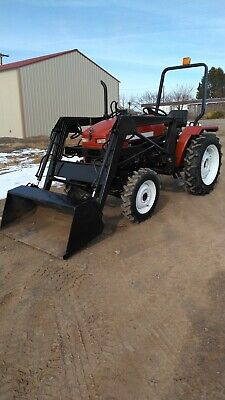 Jinma 284 Tractor 28 Hp 3 Cyl Diesel 4x4 W Front End Loader Pto