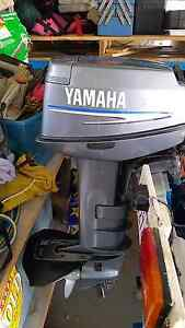 20hp yamaha electronic start long leg Edens Landing Logan Area Preview