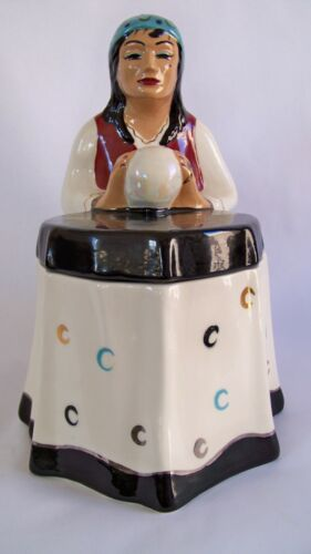( MADAM MOZELLE)  CANDY WYNNE ARTIST FOR CAROL GIFFORD COOKIE JAR