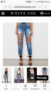 Ladies Boyfriend jeans
